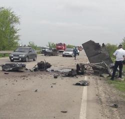 В ДТП на трассе насмерть разбился водитель