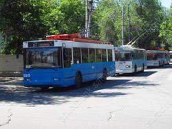 Приостанавливается работа трех троллейбусов