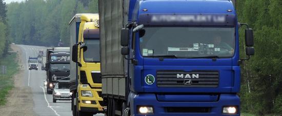 Росавтодор ввел ограничения для дальнобойщиков