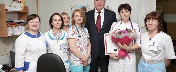 30 тысяч вологжан в День медицинского работника принимают поздравления