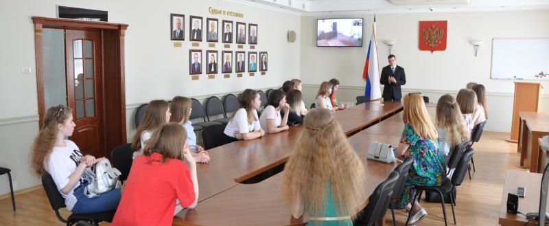 Арбитражный суд Вологодской области распахнул двери для школьников