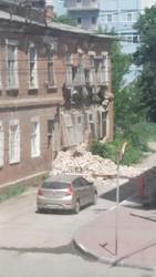 Обвалился фасад выявленного памятника