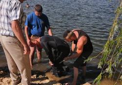 В Монаховом пруду утонул мужчина