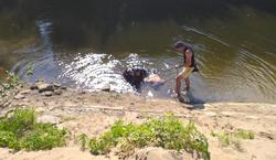 На несанкционированном пляже утонул мужчина