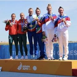 Европейские Игры: одна медаль для трех спортсменов