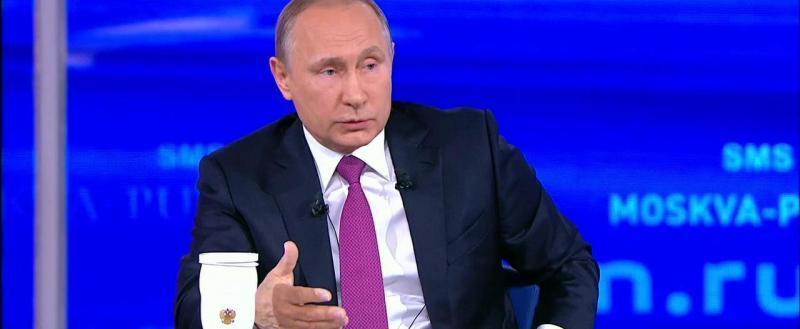 В Кремле назвали дату прямой линии с Путиным