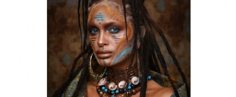 Визажист из Вологды Нелля Трапезникова взяла два вторых места на The International Makeup Championship
