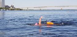 Заплыв через Волгу в Саратове будет транслироваться на экране на набережной