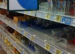 Торговцам напомнили о правильной раскладке молочных продуктов