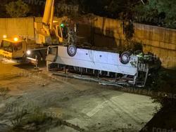 В ДТП с автобусом под Новороссийском пострадали саратовские туристы