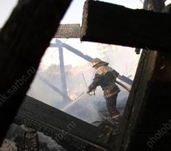 В сгоревшей половине дома погибли двое мужчин
