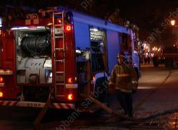 Из горящей пятиэтажки эвакуировали 20 человек