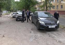 За полгода 820 водителей оштрафованы за парковку на газонах