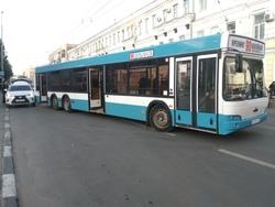 ДТП с автобусом у