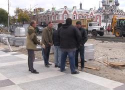 На проспекте Кирова начали укладывать плитку. Комментарий подрядчика