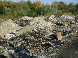 Смог над городом мог появиться из-за сжигания мусора предприятиями