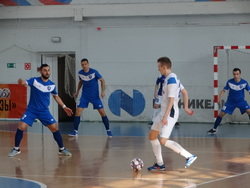 Мини-футболисты впервые в истории команды выиграли матч ЧР