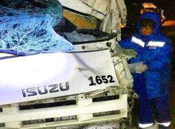 В столкновении под Энгельсом погиб водитель фургона