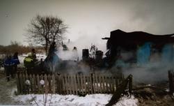 На пожаре в частном доме погибли двое